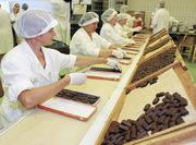 Рабочие на упаковку конфет Люблин Польша